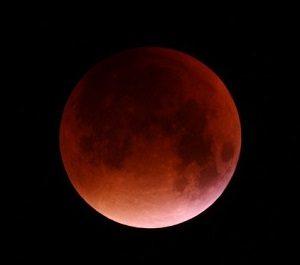 Total lunar eclipse